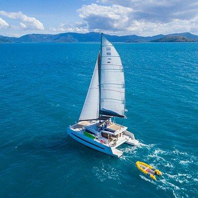 Sailing in the Whitsundays