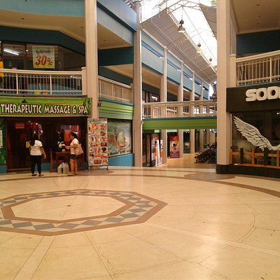 inside the mall area