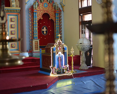 Inside of St Peters Jacobite Syrian Orthodox Church