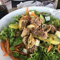 Tuna salad looks promising ...
