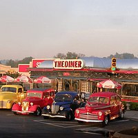 The Diner in Sevierville, TN.  Hwy 66 in front of Lowe's