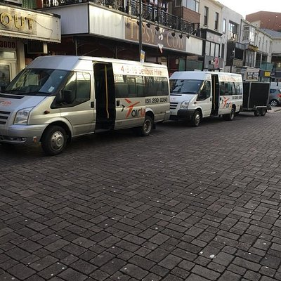 8 Seater or 16 Seater Minibus Hire Liverpool