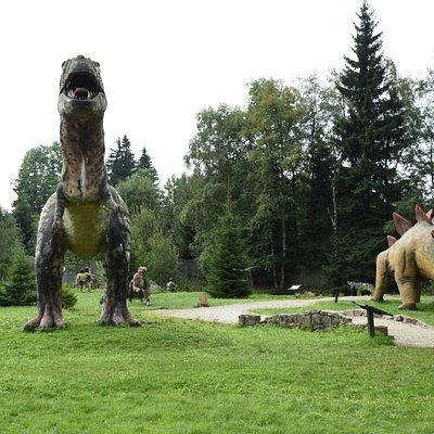 Dinosaur Park in Karłów