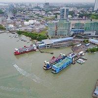 Arial Photo of Butterworth Terminal (Pengkalan Sultan Abdul Hamid) in May 2017