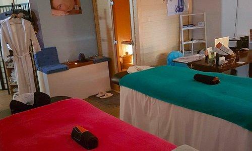 espace de massage et sauna ... seul(e) ou en duo venez vous detendre..