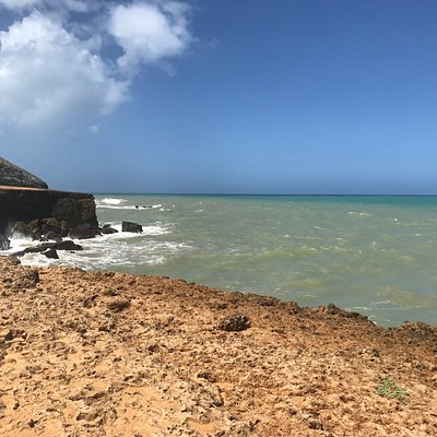 Playa Arco Iris. Cercano al Cabo de la Vela.