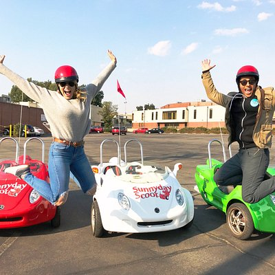 Jump for fun with Sunnyday Scoot!