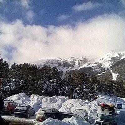 Dia Perfecto en La Molina, no sera por nieve!!!!