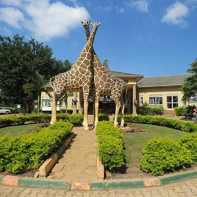 Entrance to the Uganda Wildlife Education Centre