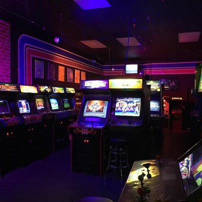 Retro 80's 90's arcade in the heart of Dow town Hayward!