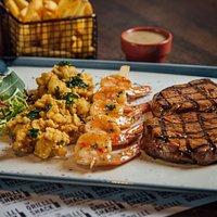 Steak & Seafood Combo
