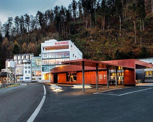 Brauerei, Verwaltungsgebäude & Rugen-Gnuss-Wält Shop