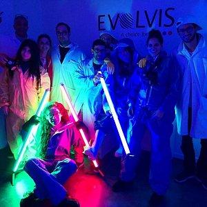 Séance photo dans Evolvis: Mission 5 sens