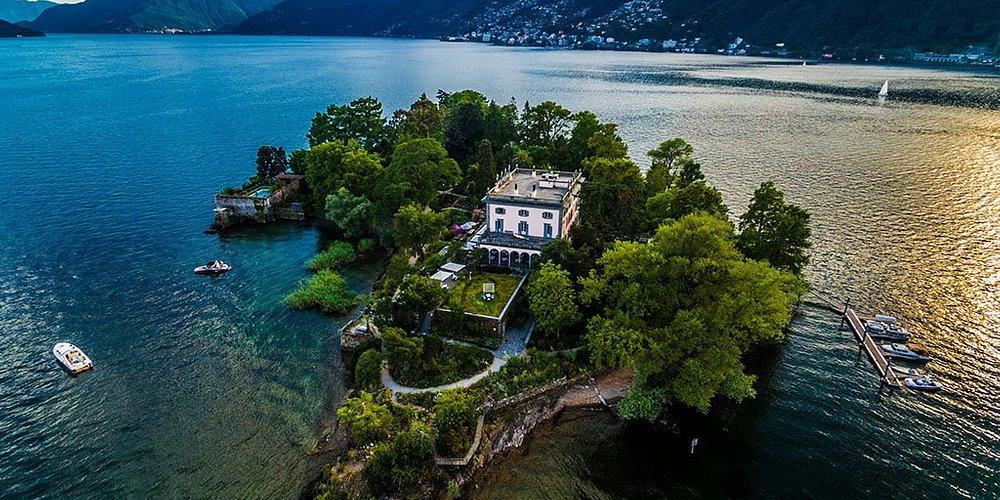 Les îles de Brissago forment le parc botanique du Tessin. Isole de Brissago , Photo par Enrico P