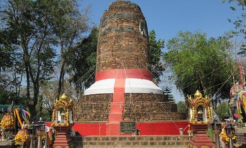 A brick tomb to a royal elephant