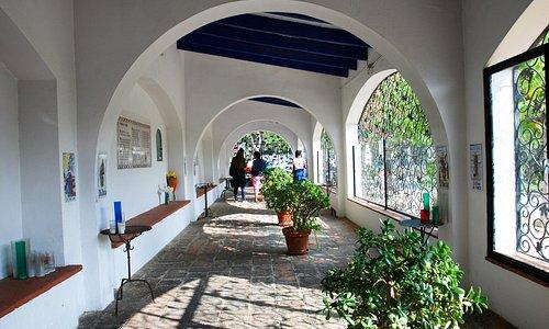 Portico / annex of Santuari del Vinyet, Sitges, Cataonia, Spain