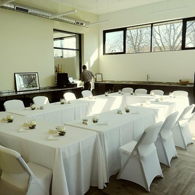 Wild Blossom has the ability to hold 30 to 130 guest for your private event, fundraiser, or wedd