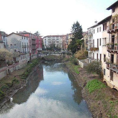 Un tratto dei fiumi di Vicenza