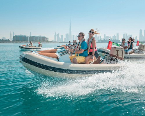Reach over 60km/hr on these safe boats!