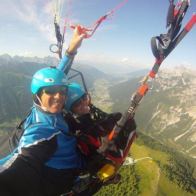Tandemflug im Stubaital mit AIR TAXI Tirol