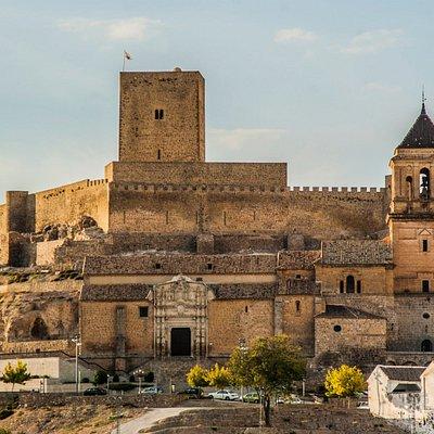 Conjunto monumental de Alcaudete. Castillo Calatravo e Iglesia de Santa María la Mayor