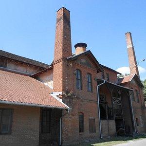 Здание музея (но вход не здесь)