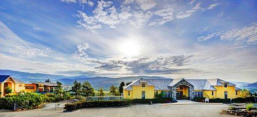 Tinhorn Creek Winery, Barrel Cellar & Miradoro Restaurant