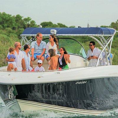 Our Tuna 38 - sleek, modern and fast