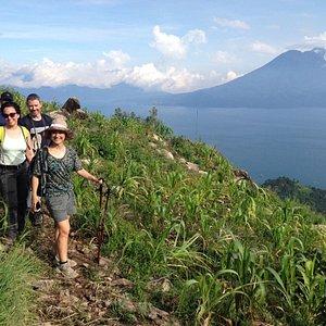 Enjoy EASY hikes around lake Atitlan