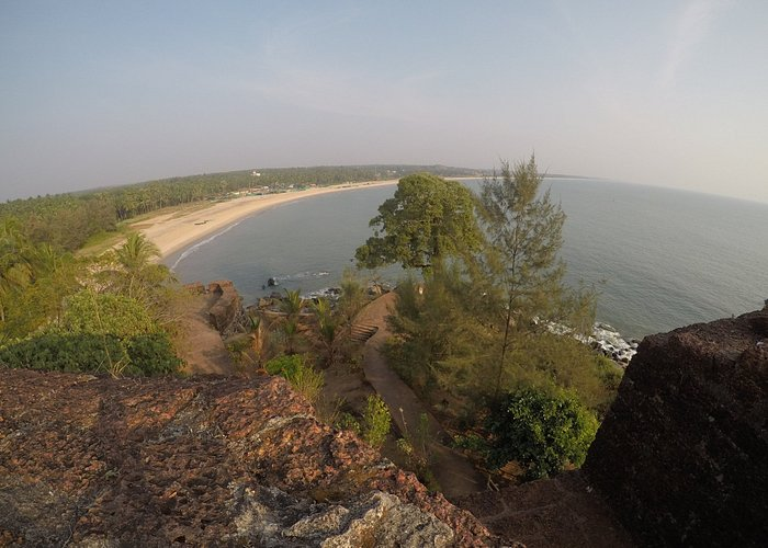 View from Bekal Fort.
