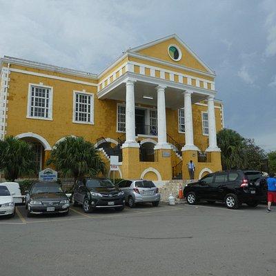 Rebuilt Courthouse
