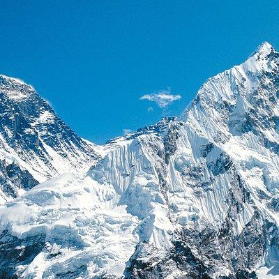 excellent view of #everest #sagarmatha #mt.everest #adventure #adventureboundnepal