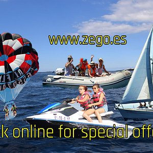 Check our new web page and choose your favorite water activity😎 www.zego.es