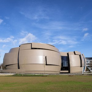 Back view of the ESO Planetarium & Visitor Centre. Credit: ESO/P. Horálek
