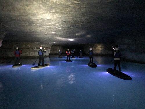 Cavern SUP Underground Glow Tours