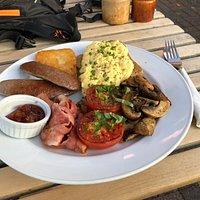 The Big Breakfast yet subtle