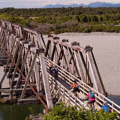 West Coast Wilderness Trail - Totara Bridge, Ross