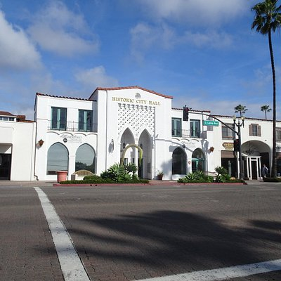 Historic City Hall in downtown San Clemente
