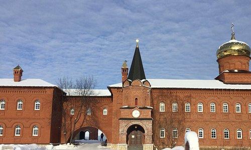 Успенский Свято-Георгиевский монастырь (февраль 2018г.)