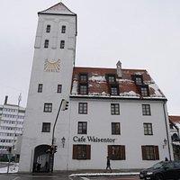 "The ""Waisentor"" (Orphan's Gate)."
