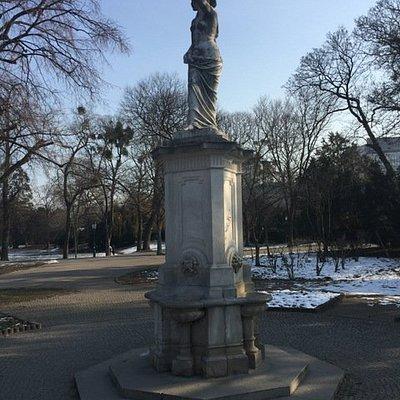 Danube Female Fountain at Stadtpark