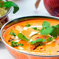 Tandoor cooked chicken tikka with tomato butter gravy end up with perfect BUTTER CHICKEN