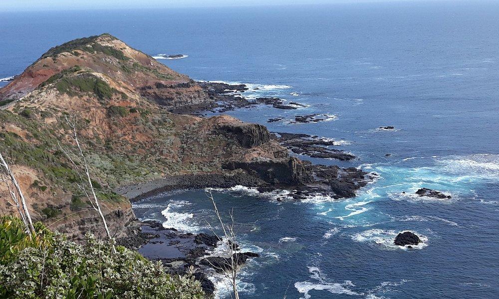 Cape Schanck, just below the Lighthouse.