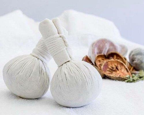 Thai herbal balls for aromatic massages.