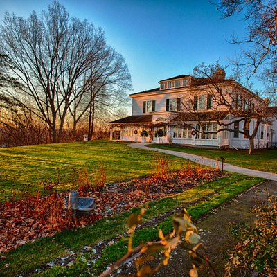 Eldon House in the fall