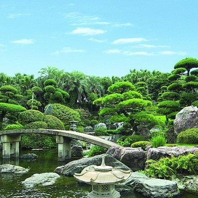 道の島庭園