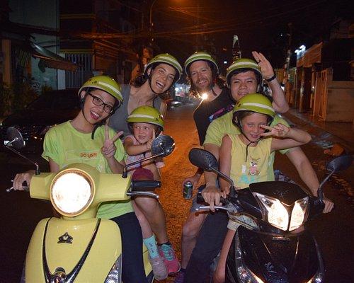 happy tour with happy family