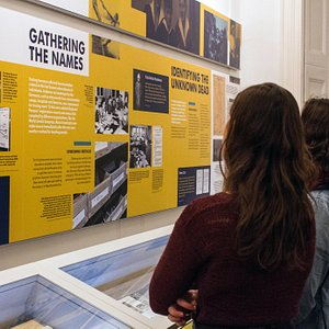 """Current exhibition: """"Fate Unknown: The Search for the Missing after the Holocaust"""""""
