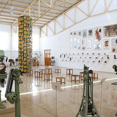 Vista general Museo del calzado Selva