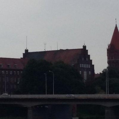 Budynek rzędu Miasta od rzeki Nogat ( północ)